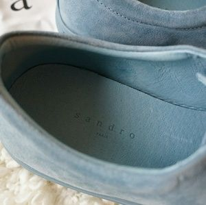 Sandro Shoes - NWT Sandro suede sneakers